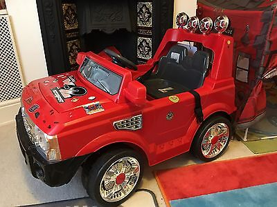 Battery Operated Ride On Car With Sound And Light