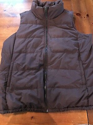 Size XL Maroon Old Navy Maternity Puffer Vest