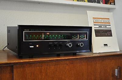 Sansui TU-999. A rare, classic vintage tuner from 1971 with manual.