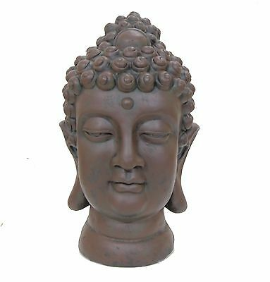 Large Buddha Head Statue Ornament Indoor Outdoor Garden Buddha Thai Decor Home