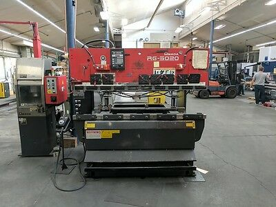 "Amada Model RG-5020LD 50 Ton x 6' Hydraulic Press Brake 50 Ton x 82"" (1999)"