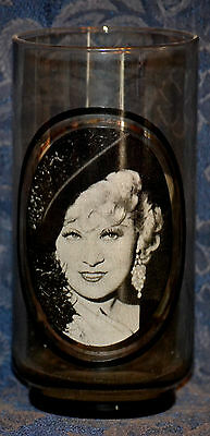 "ARBY'S Collector's Series #4 of 6 GLASS ""I'M NO ANGEL"" Actress MAE WEST 1979"