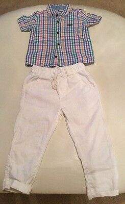 Boys Next Pants And Shirt Size 12-18 Months
