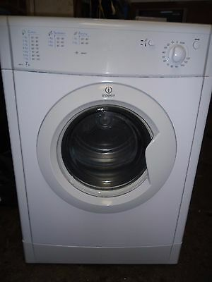 Indesit Idv75 Full Size Vented Dryer With 7Kg Load  In White