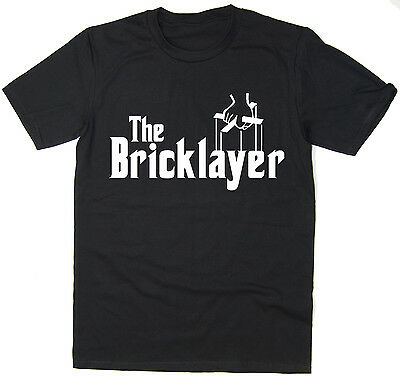 The Bricklayer - Funny T-Shirt - Godfather Spoof - Many Colours