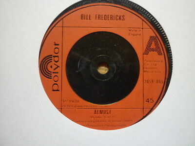 sweet soul bill fredericks almost uk polydor sweet ballad