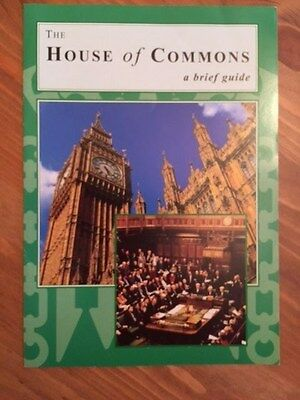 House of Commons - A Brief Guide Booklet - From a Westminster visit. Educational