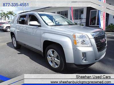 2014 GMC Terrain SLT Sport Utility 4-Door 2014 GMC TERRAIN SLT-1 SILVER V6 ONE OWNER LEATHER POWER AUTO AIR AC BLUETOOTH