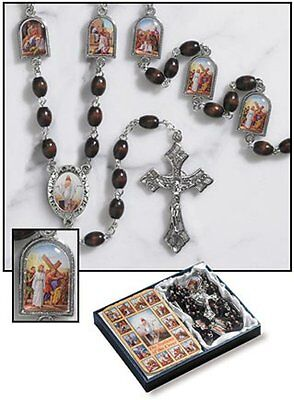 Stations of the Cross Chaplet / Rosary Set (TS410) NEW
