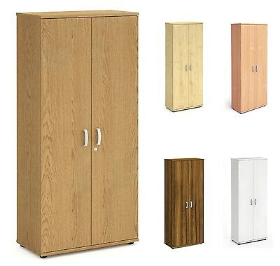 Impulse 2000mm Tall Office Cupboard Locking Cabinet with Adjustable Shelves