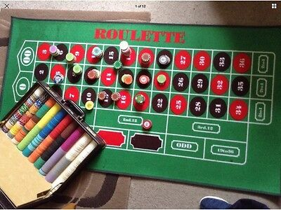 Casino Mats And Chips Very Large Bundle ����✅✅✅✅