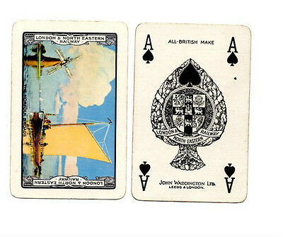 London & North Eastern Railway  - The Norfolk Broads - Special Ace of Spades