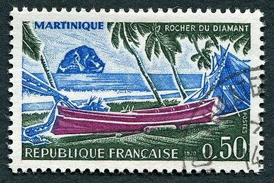 FRANCE 1970 50c bright purple, new blue and blackish green SG1883 used FG #W7