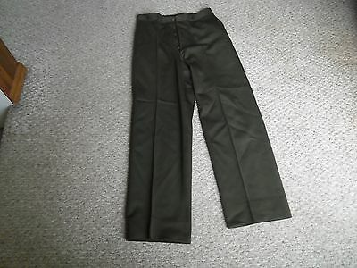 WW2 US Regulation Army Officers Trousers Named