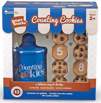 Learning Resources Smart Snacks Counting Cookies – NEW