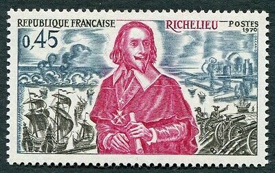 FRANCE 1970 45c magenta, slate and black SG1896 mint MNH FG French History #W7