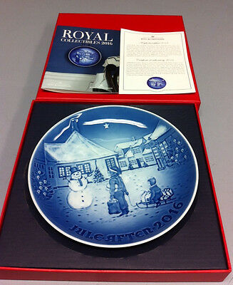 Bing & Grondahl 2016 Christmas Plate - NEW in Box