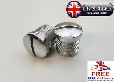 Royal Enfield Bullet 350Cc/500Cc Front Fork Plug Screw @uk