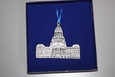 "Illinois State Capitol Building Ornament-""Best Wishes""-Governor & Mrs. Jim Edgar"