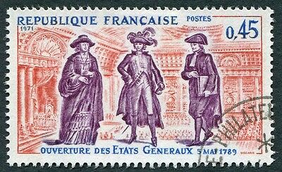 FRANCE 1971 45c SG1922 used FG History of France 6th Series #W9