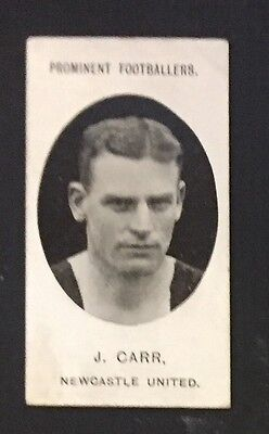 Taddy Prominent Footballers 1907 Jack Carr Newcastle United Blackburn Rovers
