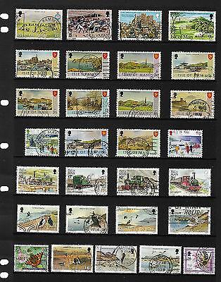 ISLE of MAN stamp selection.(ref.2)