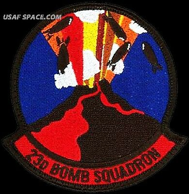 USAF 23rd BOMB SQUADRON - B-52 - Minot AFB, ND - ORIGINAL AIR FORCE VEL PATCH