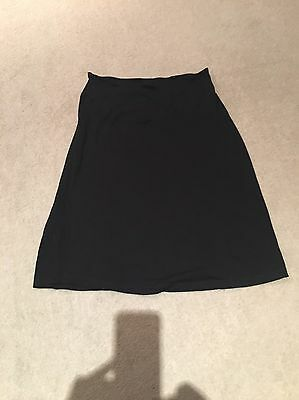 isabella oliver maternity Black Pencil Skirt Size 3 (12) Ideal For Work Or Play