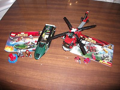 Lego Marvel Super Heroes 6866 (X-men) and 76006 (Iron Man 3)