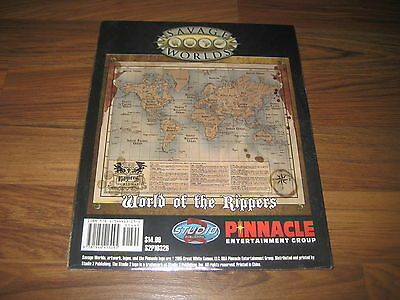 Savage Worlds Rippers Resurrected Map 3 World of Rippers + Rippers Lodge Neu New