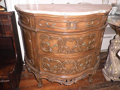 Center Hall Chest, Marble Top Chest, Bombe' Chest, Dresser, End Table,Chest 272A