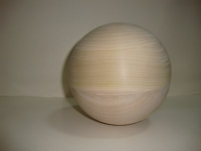 Tai Chi Ball 6 Inch Diameter Poplar Wood
