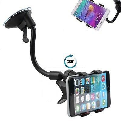 360° Universal in Car Windscreen Dashboard Mount For GPS PDA Mobile Phone Holder