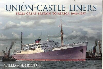 Union Castle Line Windsor Transvaal UK Africa Ocean Liner Picture History Book