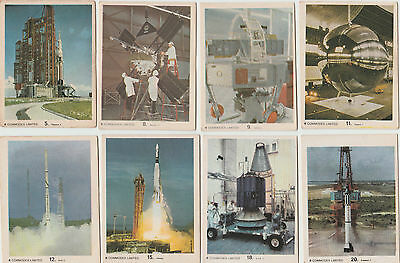 42 Commodex Cards: Operation Moon 1969
