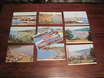 10 Vintage Postcard Rothesay Pier Multi View Etc Isle Of Bute