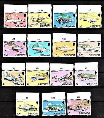 Scott 416-430  Air Mail Stamps