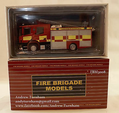 Model Fire Engine 1:50 scale Scania 94D 1990s