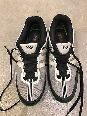 Womens Y3 Black and White Trainers Size 5 Article no. 551732