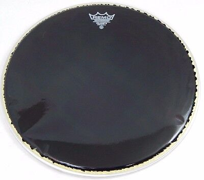 """NEW: Remo 14"""" Falams II Ebony Marching Snare Batter Crimped Drum Head KS-0714-00"""