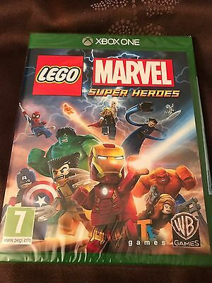 Brand New. Xbox One Game, Lego Marvel Super Heroes
