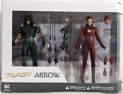 The Flash & Arrow DC Collectibles TV Action Figure 2 Pack
