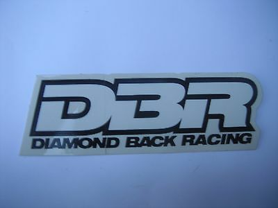 DBR Diamond Back Racing Bicycle Bike Decal Sticker Free Shipping Worldwide!!