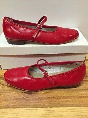 Red Scoop Square Dance Shoes Women's Size 8 W