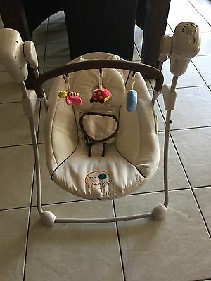 As New Our Secret Garden Pacific Plus baby swing