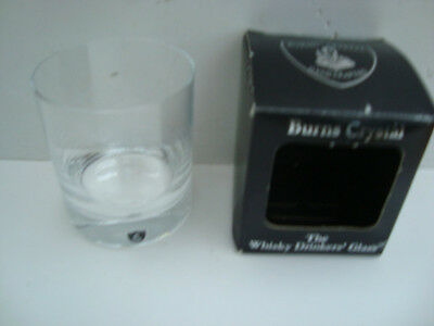 Burns Crystal - The Whisky Drinkers' Glass