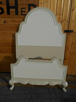 Pretty French Style Vintage Single Bed