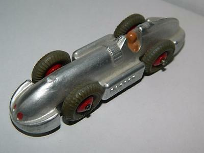 DINKY TOYS MECCANO VINTAGE SPEED OF THE WIND RECORD CAR 23e 1946-49 EXCELLENT !