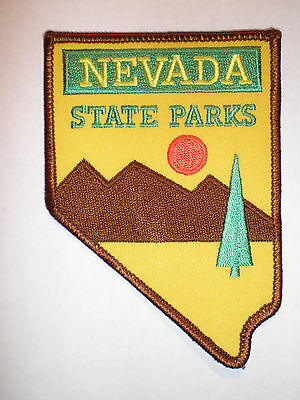 Nevada NV State Parks Conservation & Recreation Ranger Warden DNR police patch