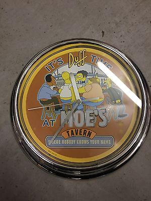 Simpson 's MOE Wall Clock